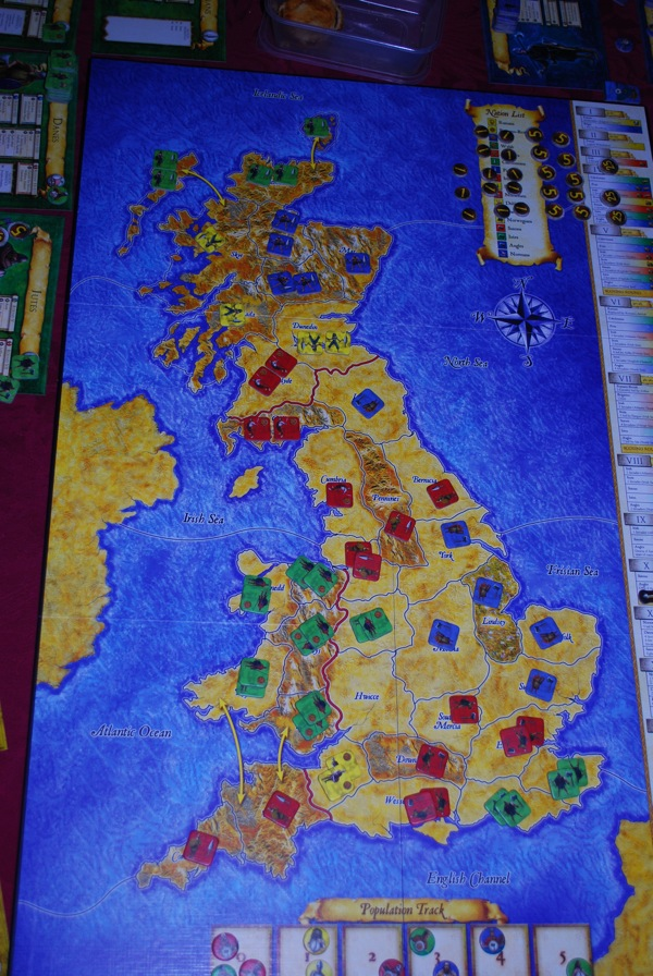 This time showing the armies in Scotland properly but not the population ladder.